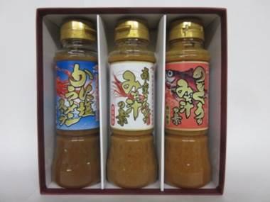 山崎醸造 VF-18 バラエティギフト(南蛮えびのみそ汁の素、のどぐろのみそ汁の素、かに塩ラーメンスープ)【送料込】