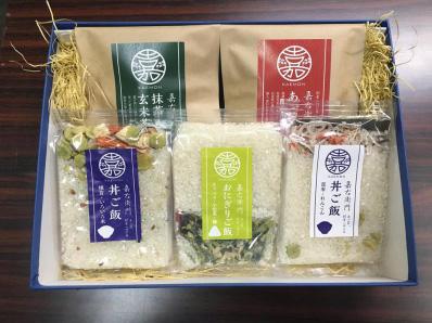 米屋かたぎり 嘉右衛門ご飯セット【送料無料】 | こめや丸七