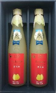 <ヤマヨ果樹園> ル レクチエジュース(果汁100%ストレート)500ml×2本セット【送料込】