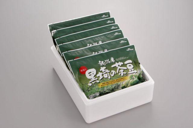冷凍 黒埼の茶豆【送料込】【着日指定願います】