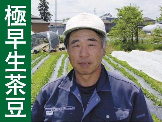 <発送期間:7/10~7/31>【数量限定!】高山農園さんの極早生茶豆1kg、1.5kg、2kg【送料込】【着日指定願います】