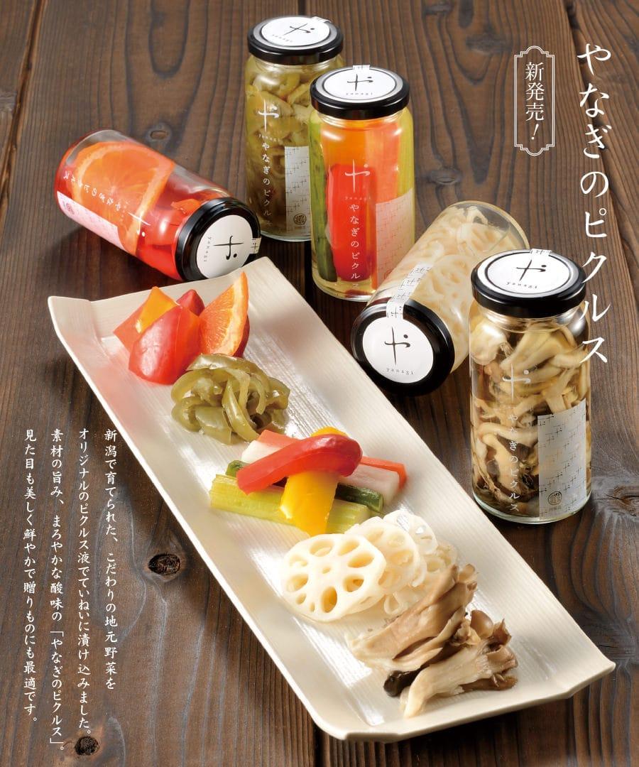 柳醸造 やなぎのピクルス5本セット【送料無料】 | こめや丸七