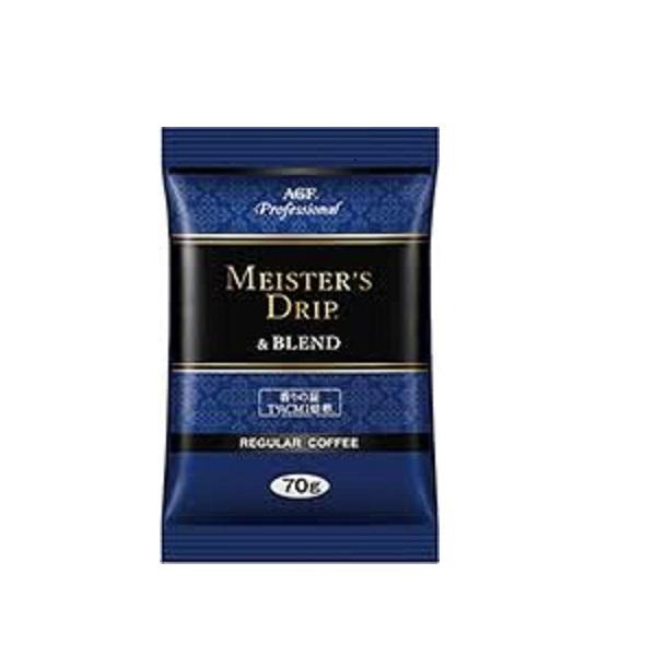 【お買い得】AGFプロフェッショナル MEISTER'S DRIP&BLEND 70g×160袋(濾紙160枚付)