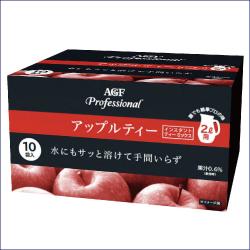 AGF プロフェッショナル アップルティー 2L用 110g×10袋 ×4箱