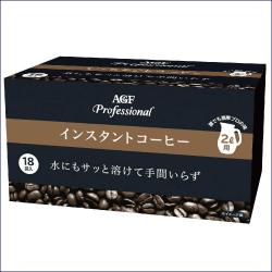 AGF プロフェッショナル インスタントコーヒー 2L用 24g×18袋 ×16箱