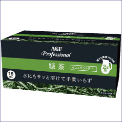 AGF プロフェッショナル 緑茶 2L用 12g×18袋 ×12箱