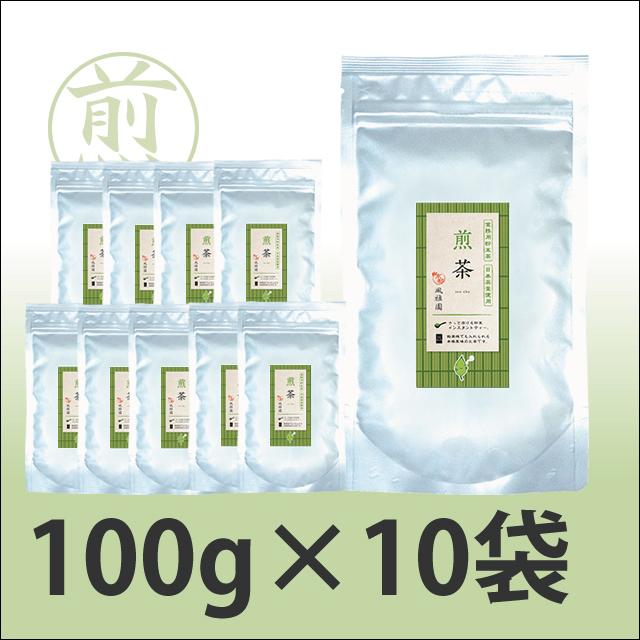 粉末茶 業務用 粉末煎茶(粉末緑茶)  【給茶機対応】 2000杯分(100g×10袋)