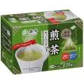【超お買い得!】 森半 宇治抹茶入り煎茶ティーバッグ (1.8g×20袋入)×8箱 国産(緑茶、抹茶)