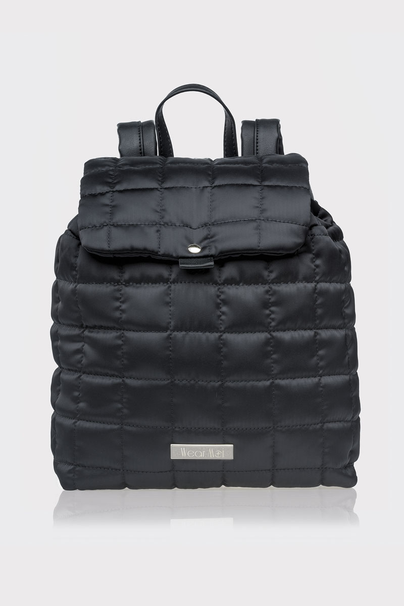 キルトサテンバッグパック