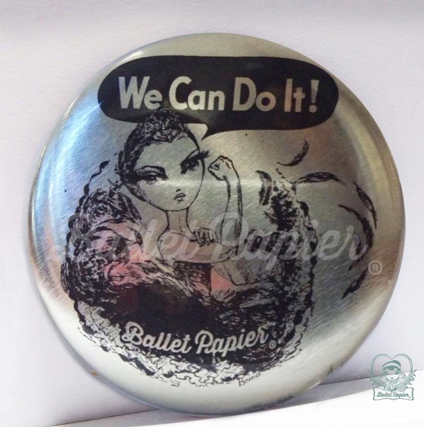 ポケットミラー We Can Do It