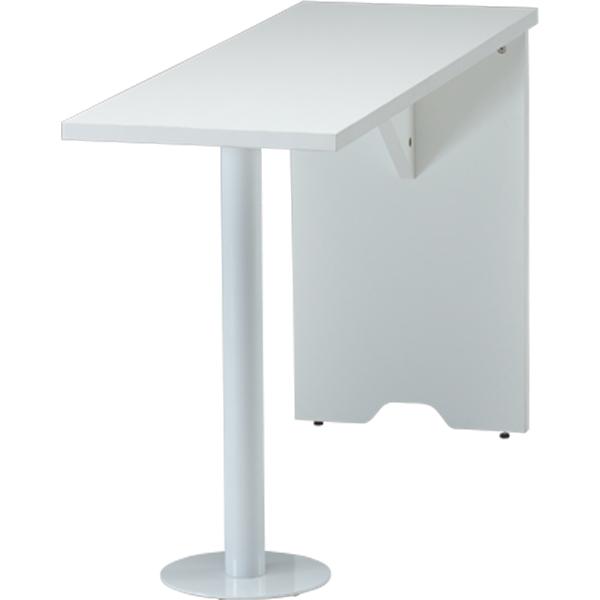 サイドテーブル/100231/幅400×奥行1200× 高さ700mm/ホワイト/FCシリーズ