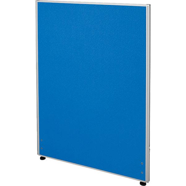 ローパーティション/布張りタイプ/PN0712-BL/高さ1200×幅700mm/ブルー/Zシリーズ/269400