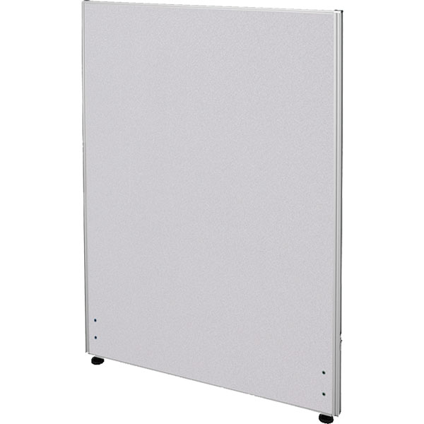 ローパーティション/布張りタイプ/PN0712-LG/高さ1200×幅700mm/ライトグレー/Zシリーズ/269411