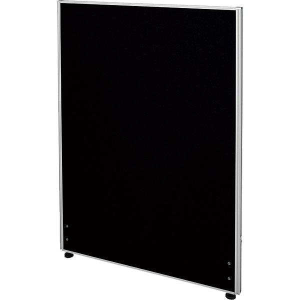 ローパーティション/布張りタイプ/PN0712-BK/高さ1200×幅700mm/ブラック/Zシリーズ/269422