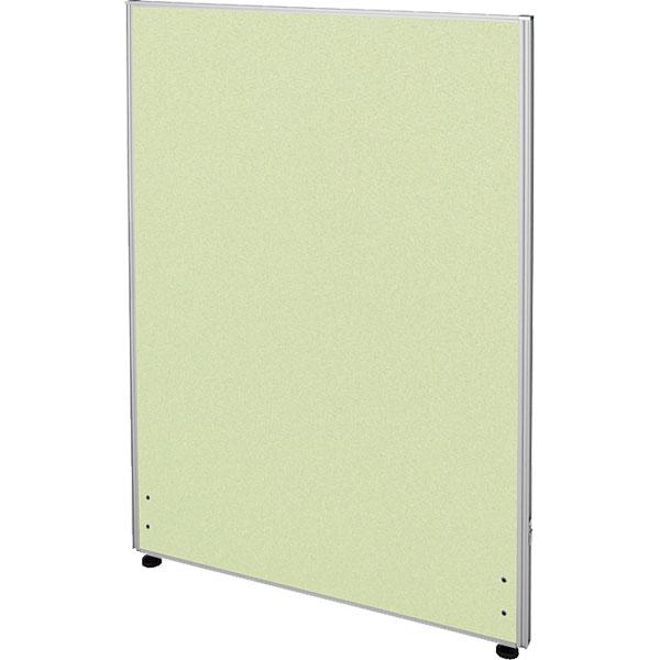 ローパーティション/布張りタイプ/PN0712-YG/高さ1200×幅700mm/イエローグリーン/Zシリーズ/269455