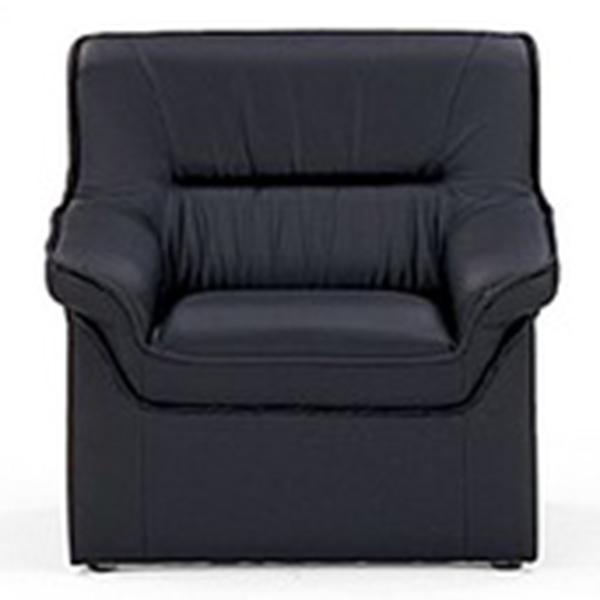 応接家具/アームチェアー/13279/幅750×奥行770×高さ740mm/ブラック/プリーダシリーズ/13279