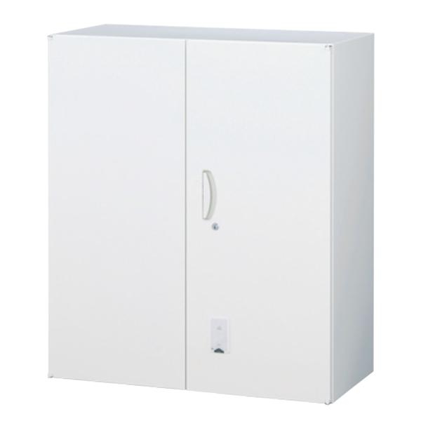 両開き書庫/上置用/カード認証/RW45-U10H-S/幅900×奥行450×高さ1050/ホワイト/クウォールRWシリーズ/58973