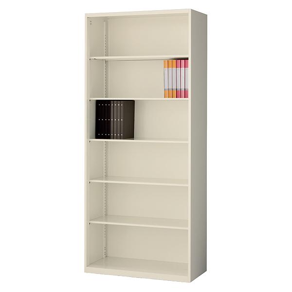 オープン書庫/下置用/RG45-21K/幅900×奥行450×高さ2100mm/ニューグレー/クウォールRGシリーズ/58818