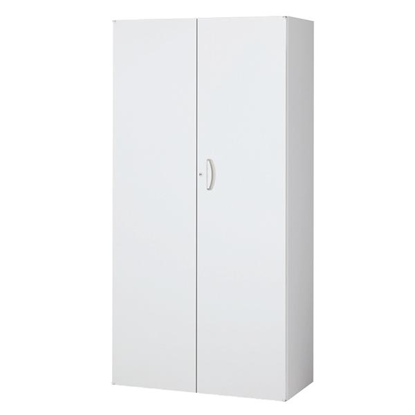 両開き書庫/下置用/RW5-18H/幅900×奥行500×高さ1800/ホワイト/クウォールRWシリーズ/62553