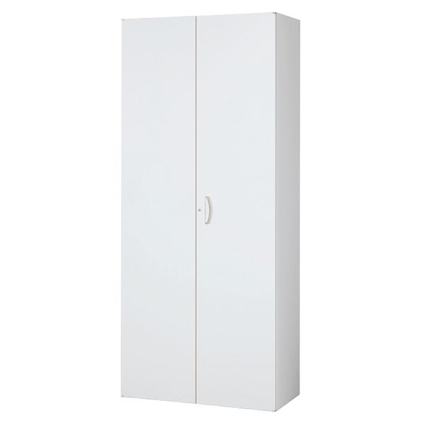 両開き書庫/下置用/RW5-21H/幅900×奥行500×高さ2100/ホワイト/クウォールRWシリーズ/62554