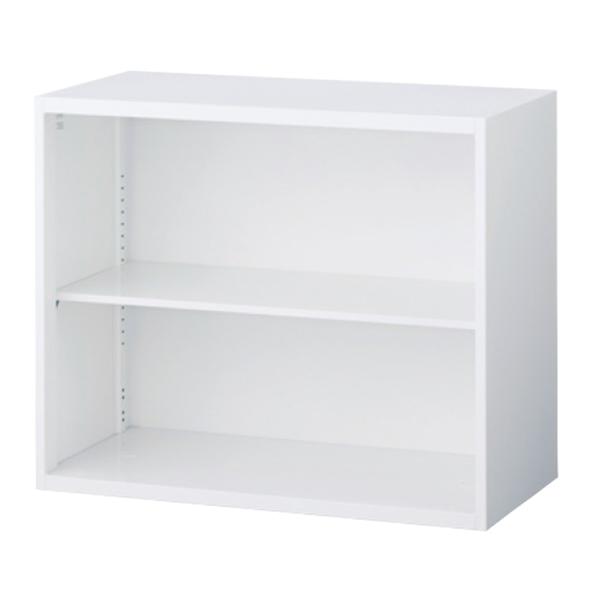 オープン書庫/上下兼用/RW5-07K/幅900×奥行500×高さ750/ホワイト/クウォールRWシリーズ/62555
