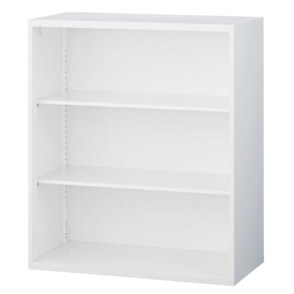 オープン書庫/上下兼用/RW5-10K/幅900×奥行500×高さ1050/ホワイト/クウォールRWシリーズ/62556