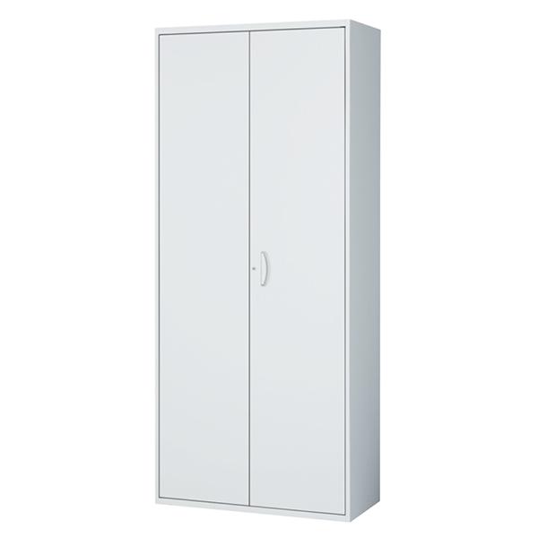 マジックドア書庫/下置用/RW45-21M/幅900×奥行450×高さ2100/ホワイト/クウォールRWシリーズ/63748