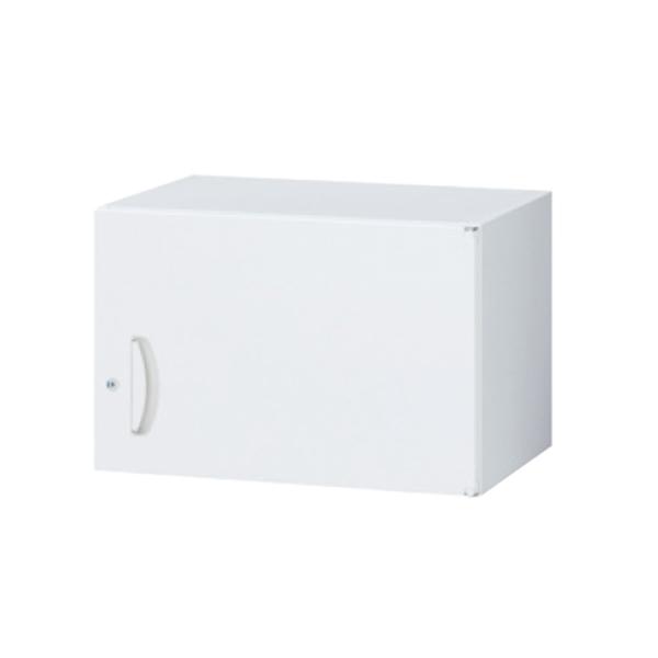 スキマ書庫用上置書庫/片開き/RW5-04H60/幅600×奥行500×高さ400/ホワイト/クウォールRWシリーズ/63776