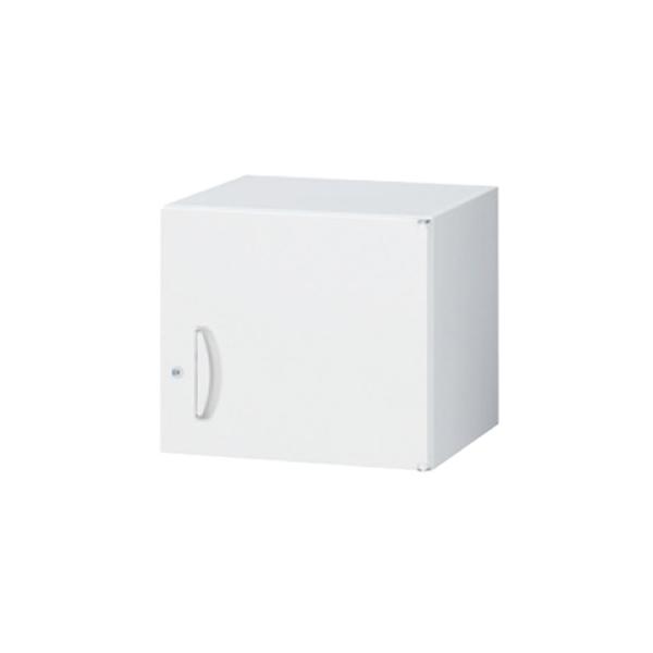 スキマ書庫用上置書庫/片開き/RW5-04H45/幅450×奥行500×高さ400/ホワイト/クウォールRWシリーズ/63777