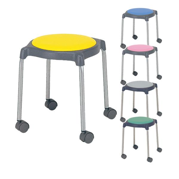 CUPPO 丸椅子/キャスターあり/802981