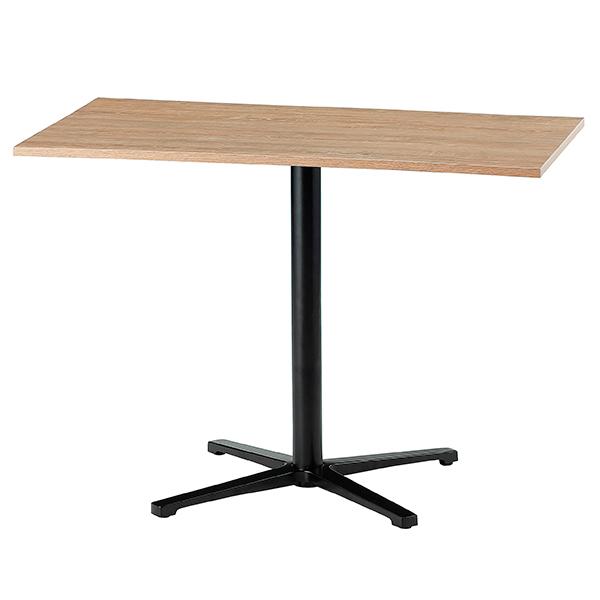 ミーティングテーブル/カフェテーブル/四角型/脚色ブラック/ABW-1060C-FO/幅1000×奥行600×高さ720mm/天板フォレスト色/ABWシリーズ/1001469