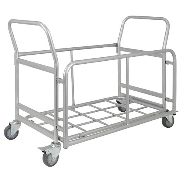 パイプ椅子用台車/CO-005/シルバー/416134