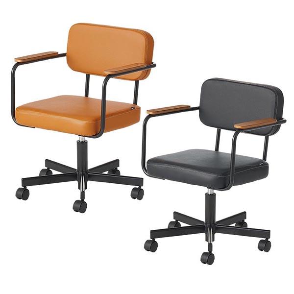 オフィスチェア/肘付き/HBDK-WORKCHAIR/2色/メティオシリーズ/680134