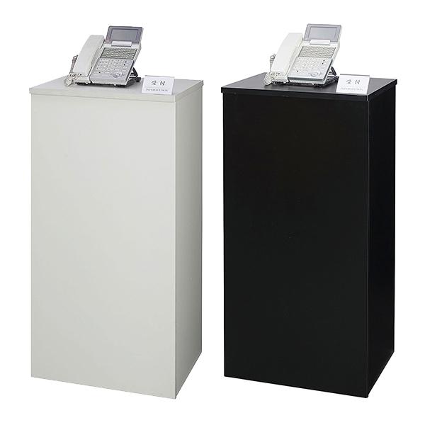 インフォメーションカウンター/棚板付/ITEL-9045/幅450×奥行380×高さ900mm/ITELシリーズ/1000891