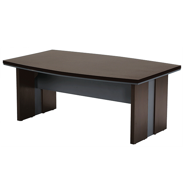 会議用テーブル/MTB-1811/幅1800×奥行1100×高さ720mm/ダークブラウン/MTBシリーズ/1000625