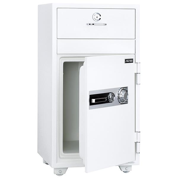 投入式耐火金庫/ダイヤルタイプ/PHDI-130ND/ホワイト/PHDIシリーズ/1000715