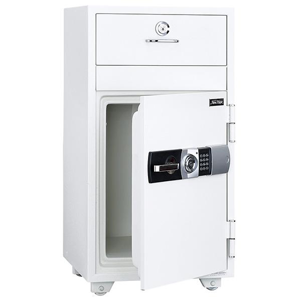 投入式耐火金庫/テンキータイプ/PHDI-130ND/ホワイト/PHDIシリーズ/1000716