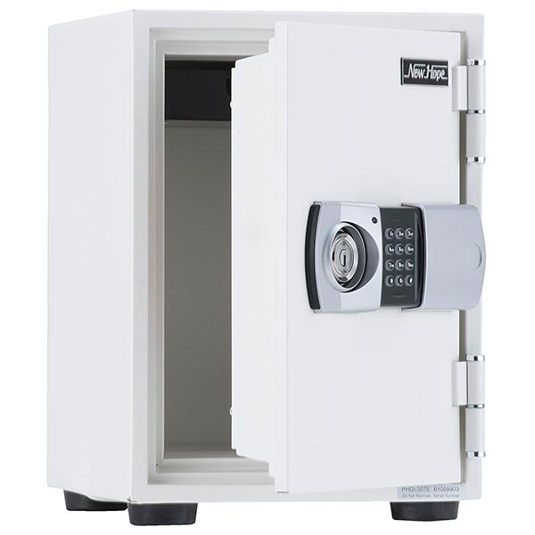 耐火金庫/テンキー錠/耐火30分/PHDI-30TE/ホワイト/PHDIシリーズ/1001373