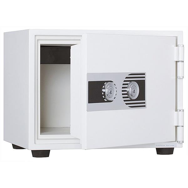 耐火金庫/2キータイプ/耐火30分/PHDI-30W/ホワイト/PHDIシリーズ/10552