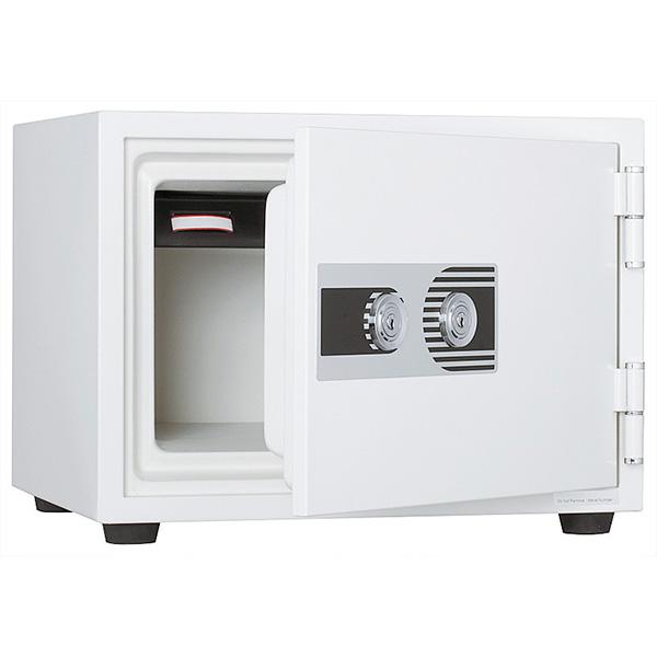 耐火金庫/2キータイプ/耐火1時間/PHDI-50W/ホワイト/PHDIシリーズ/10555