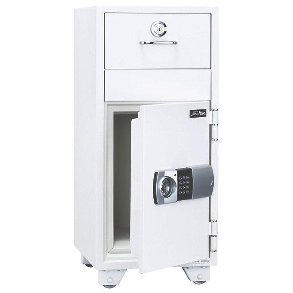 投入式耐火金庫/テンキータイプ/PHDI-80NE/ホワイト/PHDIシリーズ/1000714
