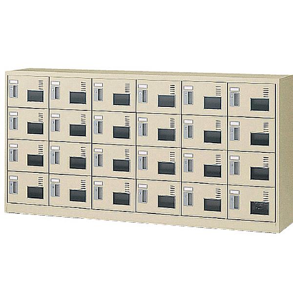 6列4段24人用/鍵付/アクリル窓付タイプSLC-24YW