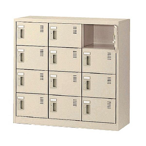 3列4段12人用/鍵付/窓無タイプSLC-M12