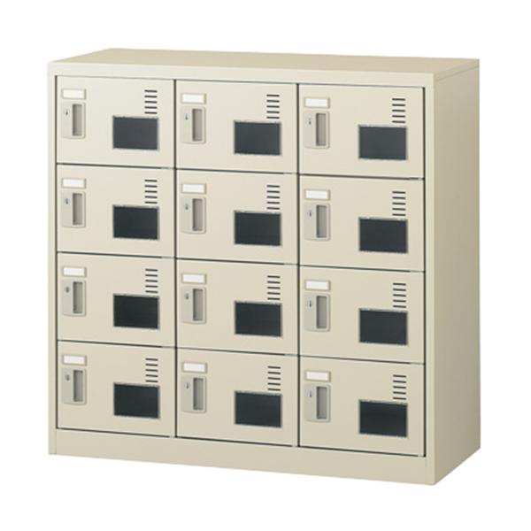 3列4段12人用/鍵付/アクリル窓付タイプSLC-M12W