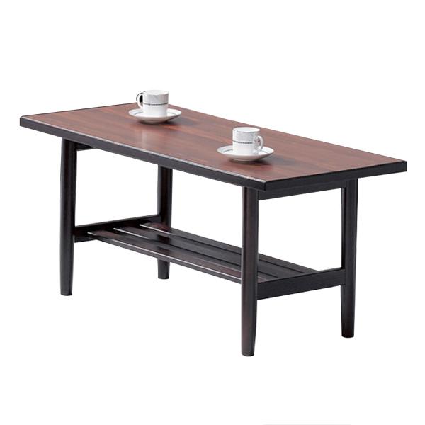応接家具/センターテーブル/T-184S/幅1050×奥行450×高さ450mm/木目ブラウン/FS-190シリーズ/13231