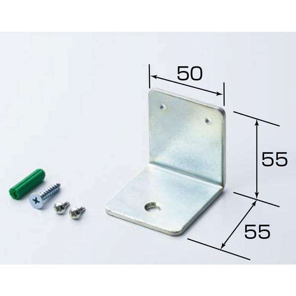 【本体同時購入専用】床固定金具/YKU-2/64495