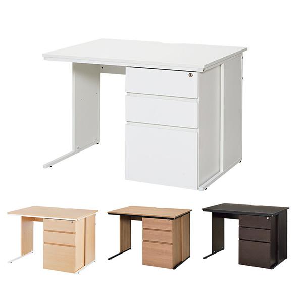 オフィスデスク/片袖机/Z-LWKD-1070/幅1000×奥行700×高さ700mm/4色/FCシリーズ/810069