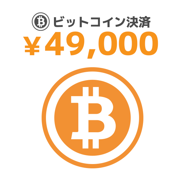 【BIT】49000/ビットコイン決済/9600096