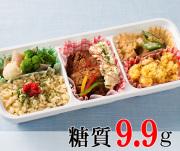 鶏南蛮と和風ご飯の彩りご膳 [大豆米]