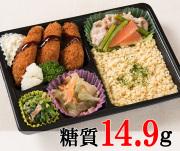 カキフライ弁当 [大豆米]